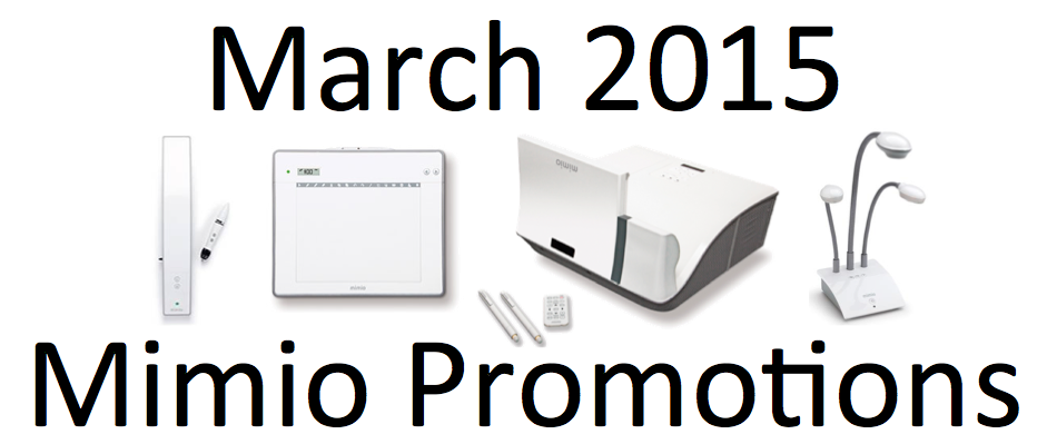 Mimio Promotion March 2015