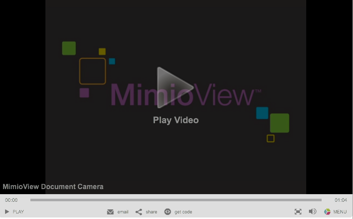 MimioView Video