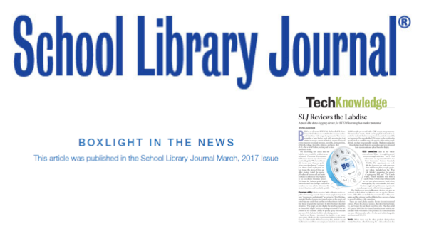 School Library Journal Labdisc 2017