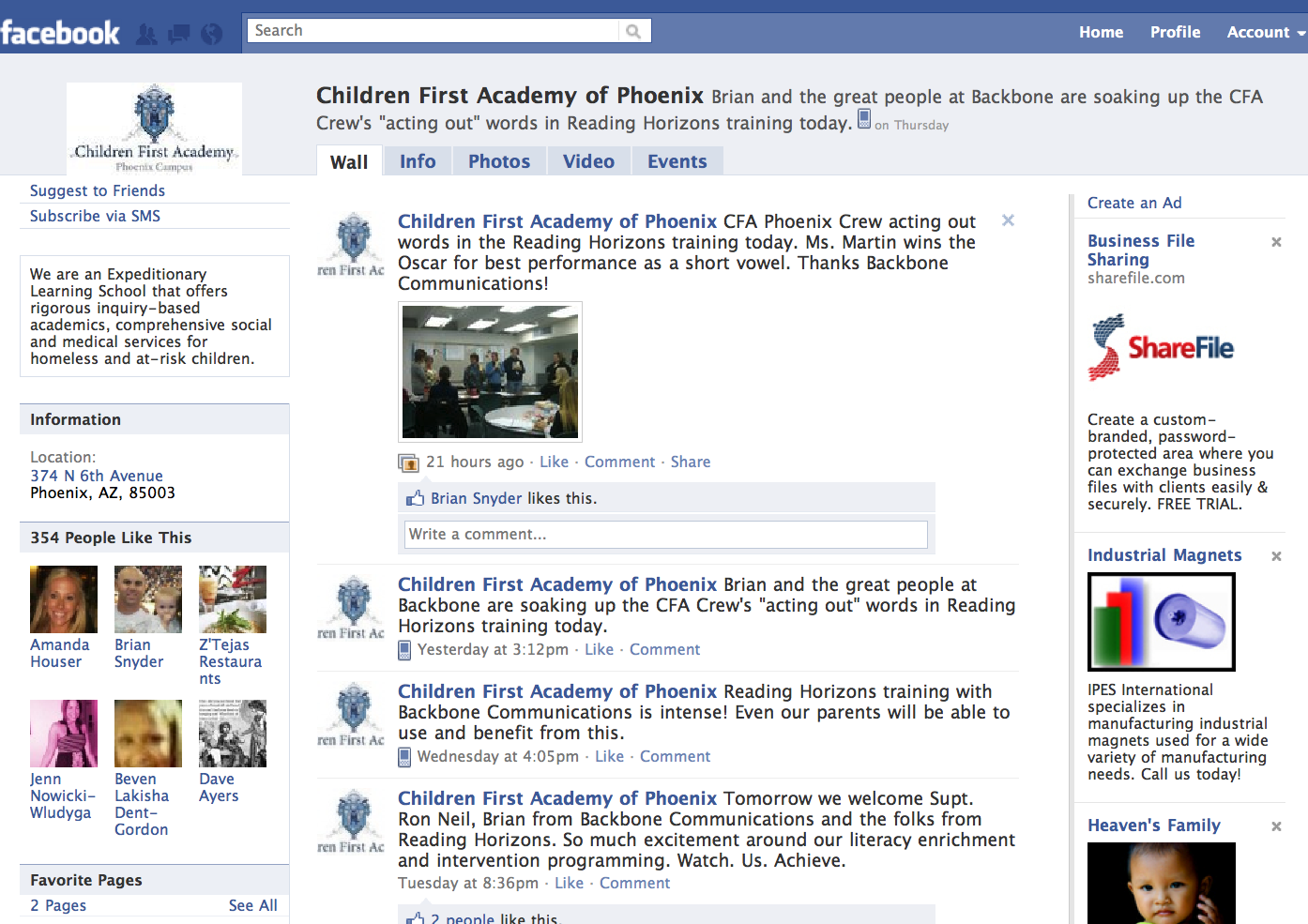 Children First Academy of Phoenix on Facebook