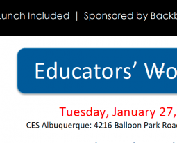 New Mexico Educators' Workshop 2015/01/27