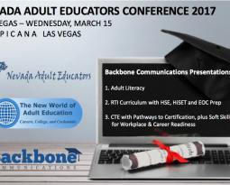 NEVADA ADULT EDUCATORS CONFERENCE 2017