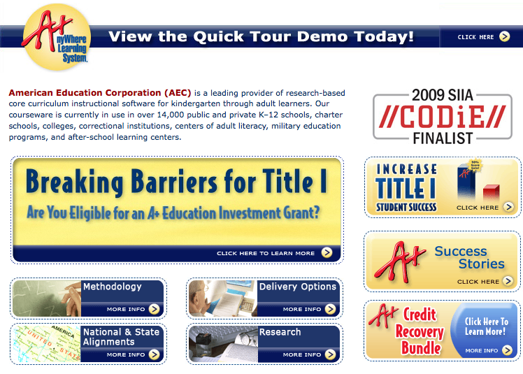 K-12 Curriculum Software & Adult Learning