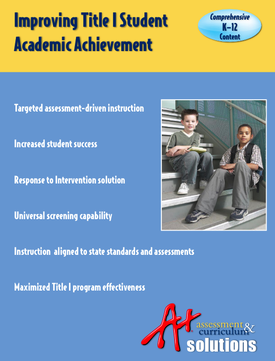 Title 1 Student Academic Achievement 1