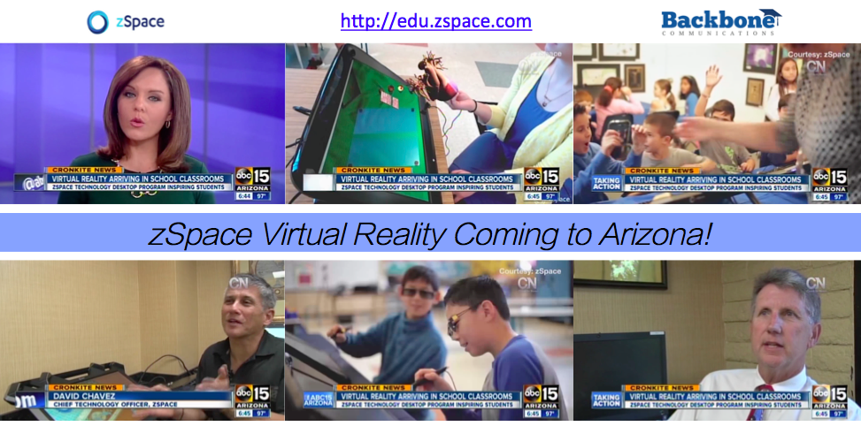 October 2, 2015: zSpace Workshops coming to Arizona